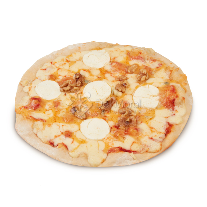 PIZZA FINA DE 4 QUESOS Y NUECES - FRIPAN